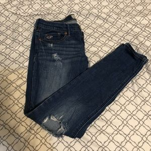 Hollister 3S so cal stretch skinny jeans 26/29